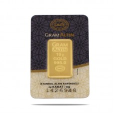 10 gr 24 Ayar Gram Külçe Altın
